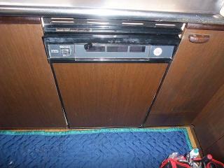 ハーマン ビルトイン食洗機 FB4515PMS 施工前