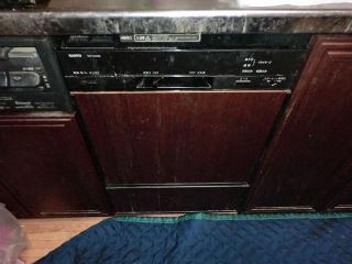 パソニック ビルトイン食洗機 NP45MC5T 施工前