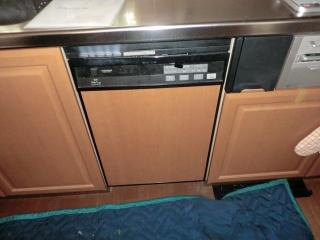 パナソニック ビルトイン食洗機 NP-P45MD2S-S 施工前